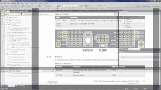 getting started with atmel   smart sam d mcus configuring the gpio
