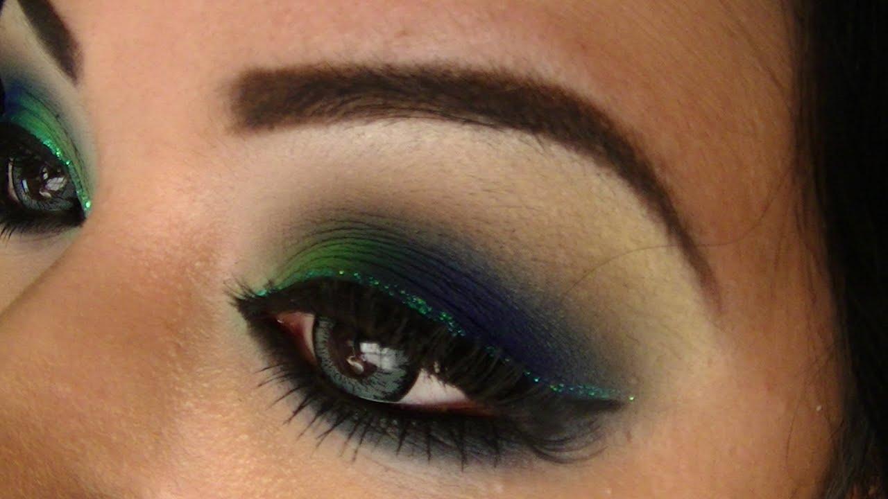 Tutorial de maquillaje: Smokey inspirado en Pavo Real - Juancarlos960