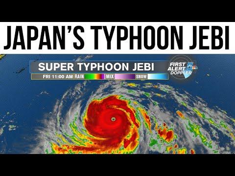 Typhoon Jebi batters Japan, 25 वर्षों में सबसे विनाशक तूफान Current Affairs 2018