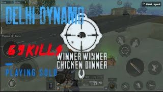PUBG MOBILE LITE AMAZING CHICKEN DINNER WITH PRO PLAYERS | playing solo