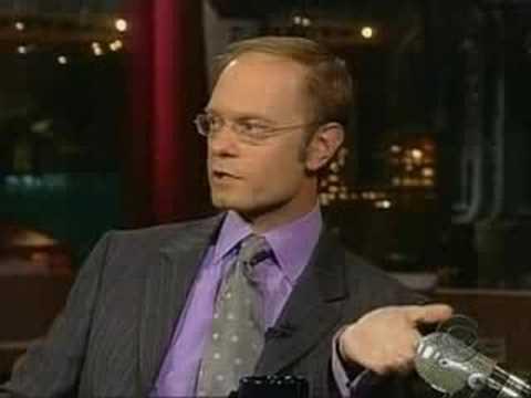 David HydePierceonLetterman2004