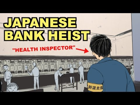 This Is The Greatest Bank Heist in Japanese History