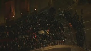 Peaceful protests march on, looters largely absent during NYC curfew