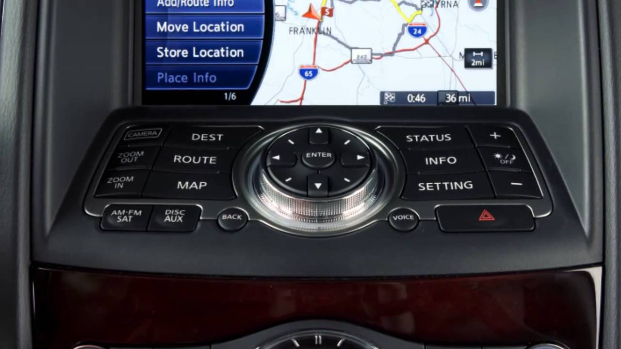 Navigation System Overview (if So Equipped)