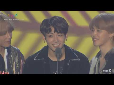 171202 MMA Best Song of the Year BTS-Spring day