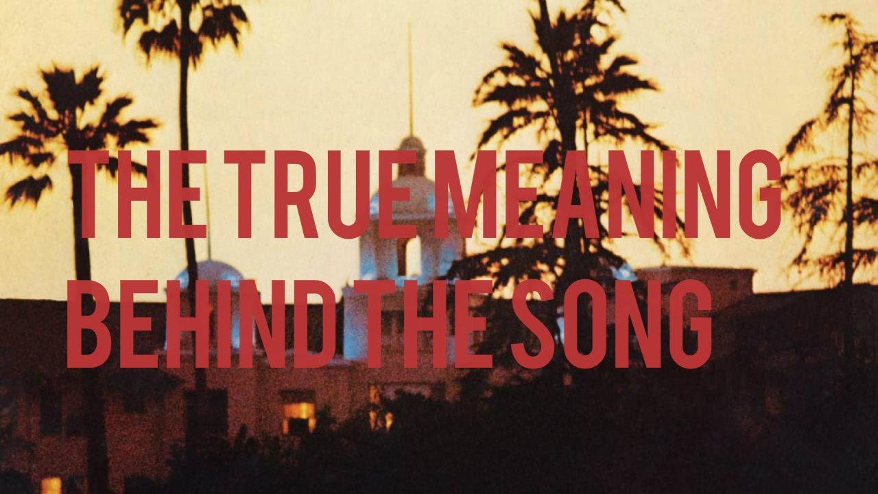 Eagles Song Hotel California The Hidden Message Dark Underbelly