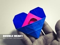 How to make a paper Heart - Modular Origami Heart with A Secret Message for Valentines
