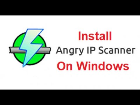 How To Install Angry Ip Scanner On Windows