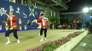 淡路島祭りでの舞台.