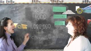 Lesson 16 - Hundred, Thousand and Million - Learn English with Jennifer