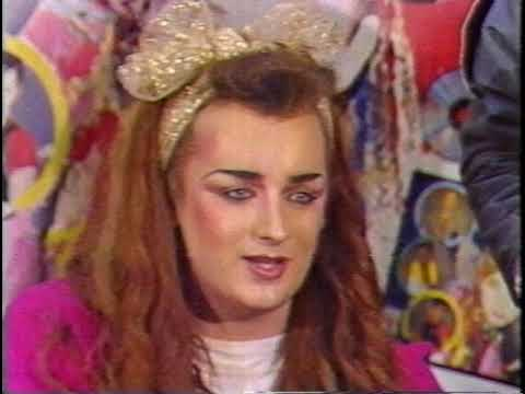 Boy George And Culture Club, Rundle Mall, Adelaide 1984
