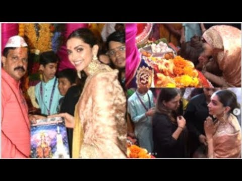 Deepika Padukone PRAYING And Taking BLESSING At Lalbaugcha Raja In Front Of Media Mp3