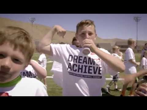 Gridiron Dreams Football Academy Milk Victory Campaign - Extended Cut