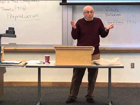 Social Phenomenology: Self in Society, Lecture 2