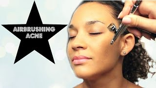 How to Cover Acne with Airbrushing Makeup Thumbnail