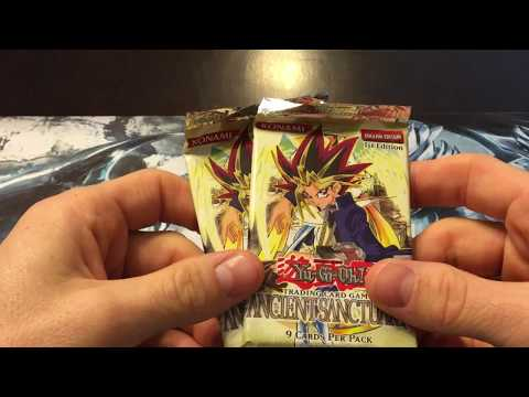 Yu-Gi-Oh! 1st Edition Ancient Sanctuary Scaled Pack Opening x2!