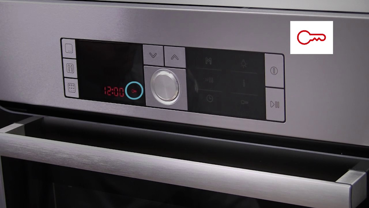 Combimagnetron Miele How Do I Activate And Deactivate The Oven Child Lock