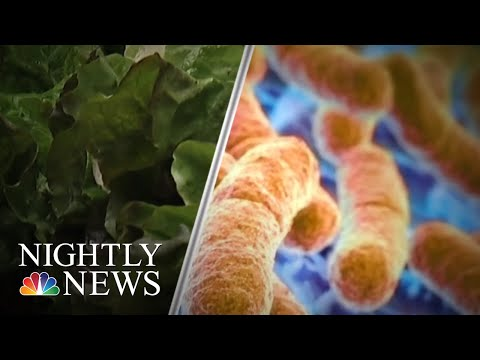 Avoid Romaine Lettuce, CDC Warns, Amid E. Coli Outbreak | NBC Nightly News