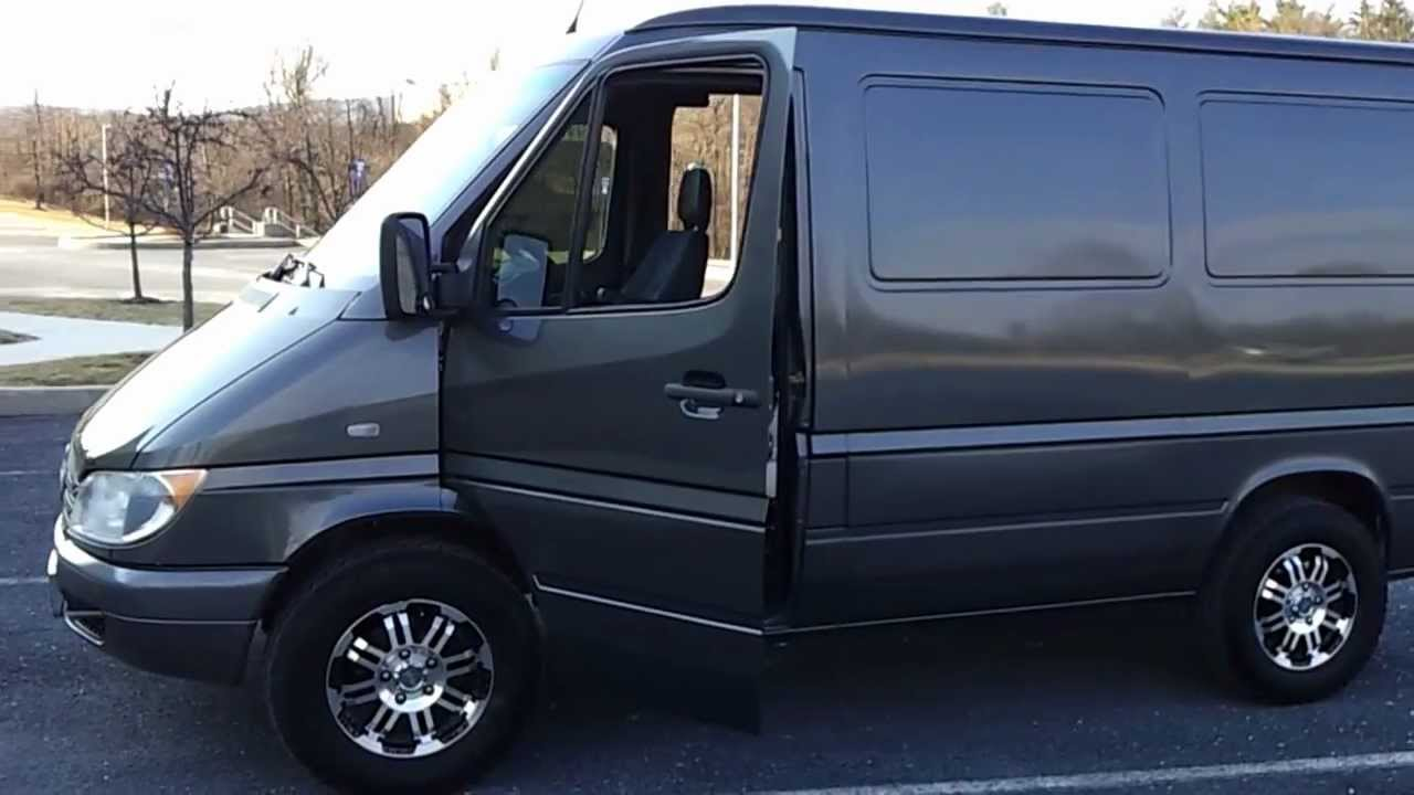 2006 Mercedes Sprinter Media Van Mobile Office Sold