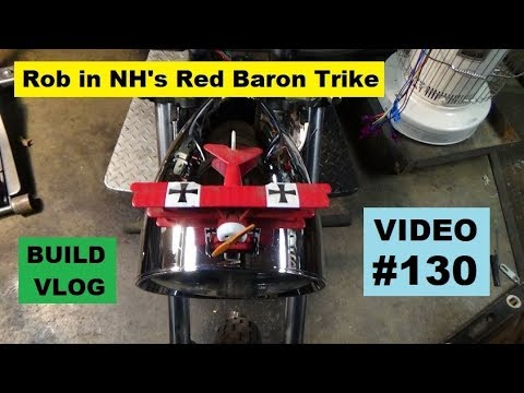 RB-VW Trike #130: Rotor & Caliper Restoration, Tank Wire Forming & More!