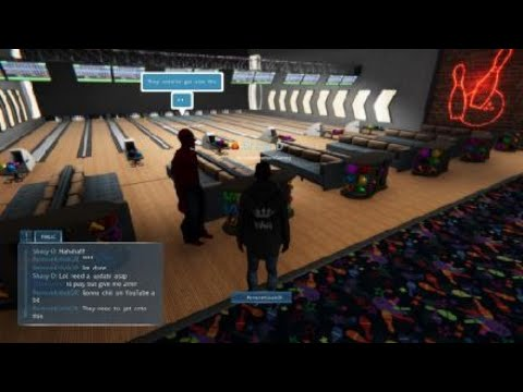 Nebula Realms Gameplay pt71 - Party Chat, Bowling Glitches, & Unity Update Soon!