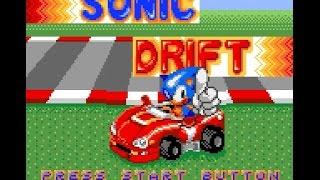 Game Gear Longplay [034] Sonic Drift