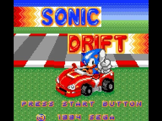 Game Gear Longplay [034] Sonic Drift