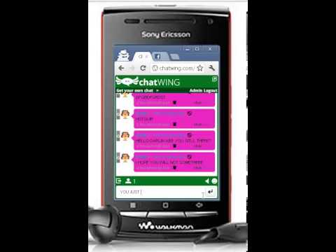 Talk And Chat Live On Sony Ericsson T700i Phone