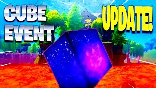 The CUBE is changing the SECRET BUNKER in Fortnite... aeqro