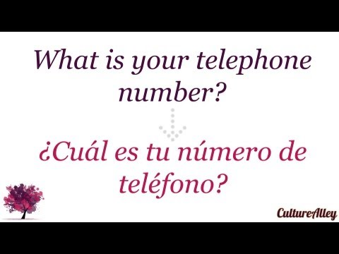 How to say mobile telephone in spanish