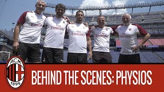 Behind the Scenes | The match as seen by the physios
