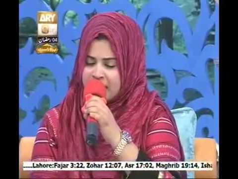 Main Lajpalan De Lar Lagiyan Sadia kazmi 4th ramzan 2014
