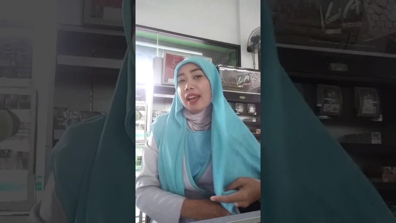 Model Hijab Wardah Gamis Kombinasi