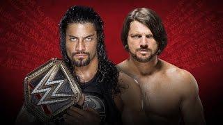 WWE 2K16 PS2: Roman Reigns vs AJ Styles - Extreme Rules 2016 - WWE World Heavyweight Championship