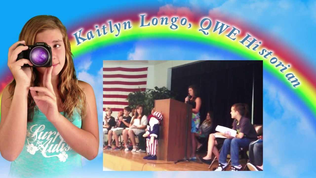 QWE 5th Grade Sudent Council Vice President & Historian ...