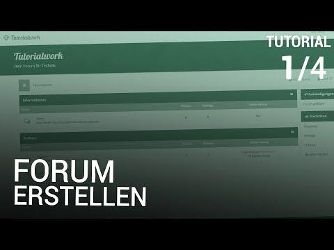 Forum erstellen [1/4]   Webspace & Installation
