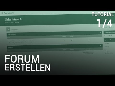 Forum Erstellen [1/4] | Webspace & Installation