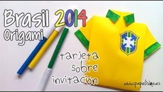 Camiseta de fútbol Brasil 2014