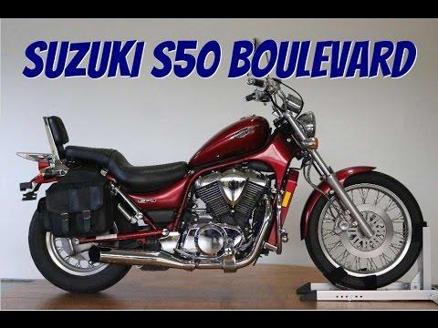 2006 Suzuki Boulevard S50 Walk Around: srkcycles.com - YouTube