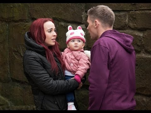 Hollyoaks March 13th 2014 (Sinead and Freddie flee with Katy)