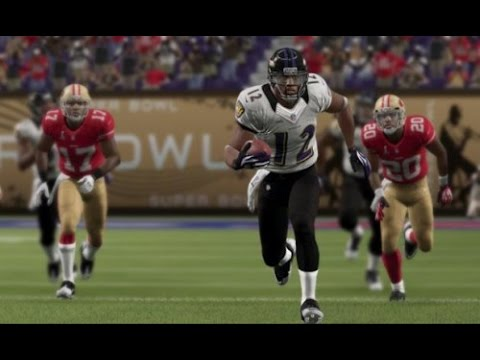 Can I Recreate Jacoby Jones Kickoff Return TD from Super Bowl XLVII? Madden 16 - Live Commentary