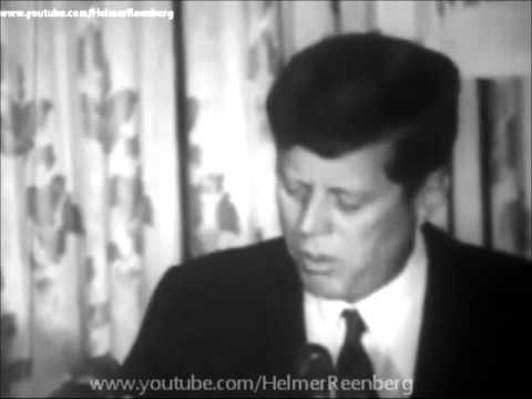 June 13, 1963 - President John F. Kennedy Speaks at the Willard Hotel, Washington D.C.