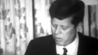 June 13, 1963 - President John F. Kennedy Speaks at the Willard Hotel, Washington D.C.