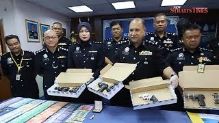 Police snuff out cocaine syndicate, seize RM6.2 million worth of drugs
