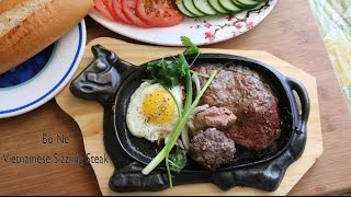 Vietnamese Sizzling Steak with Egg and Pâté