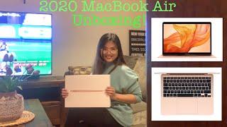 2020 MacBook Air Unboxing! | Biglang tumunog ang fire alarm!
