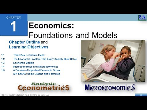 Economics - Chapter 01: Foundations and Models