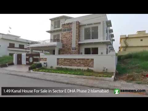HOUSE AVAILABLE FOR SALE IN SECTOR E PHASE 2 DHA ISLAMABAD