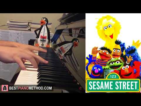 Sesame Street - Theme Song (Piano Cover by Amosdoll)