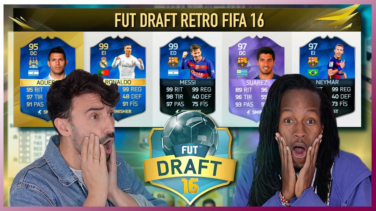 FUT DRAFT RETRO | FIFA 16 | ¡¡¡A POR EL RÉCORD!!!